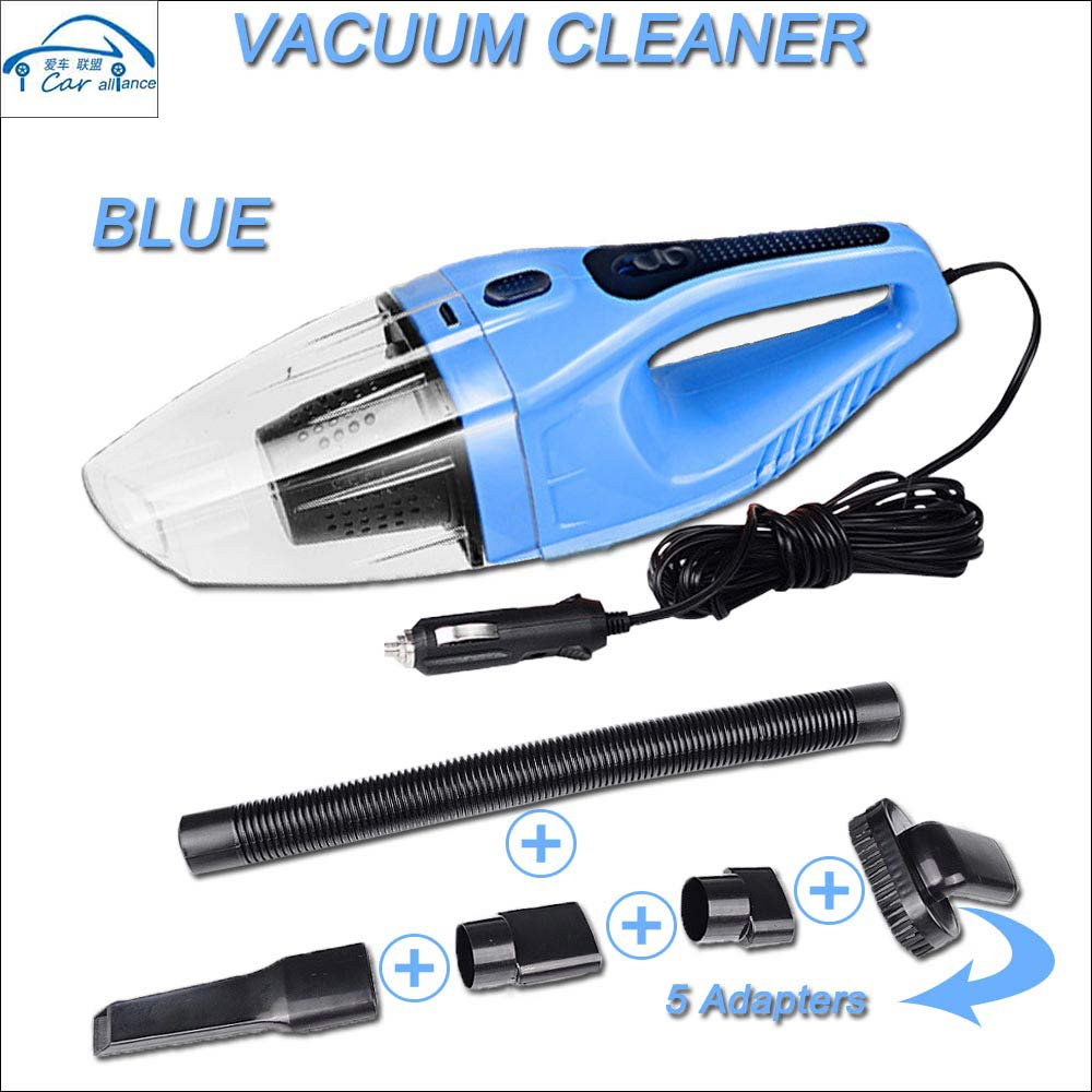 2016 Car Vacuum Cleaner 5M 120W 12V Portable Handheld Mini Super Suction Wet And Dry Dual Use Vaccum Cleaner Free shipping(China (Mainland))