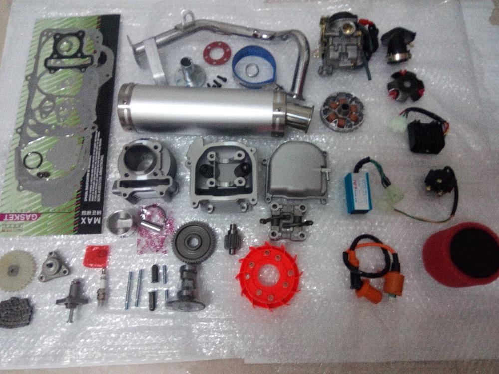 100cc Big Bore Kit Performance A9 Cam CDI Coil Variator font b GY6 b font 139QMB