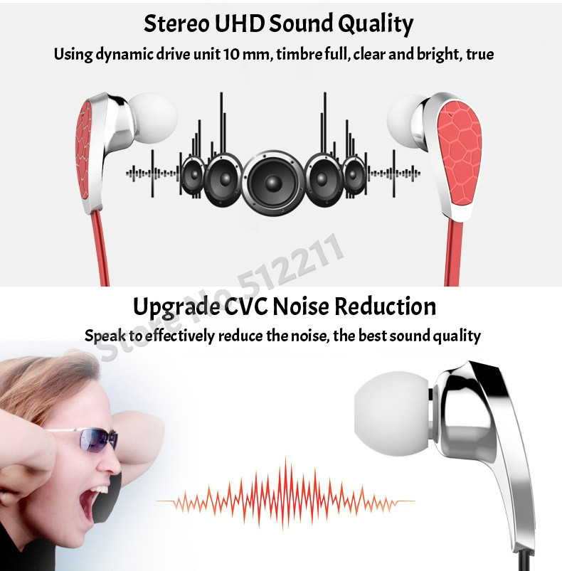 Original Bluedio N2 Sport Bionic Bluetooth Headset V4.1 + EDR Wireless Earphones Stereo Bluetooth Headphone for all Phones PC