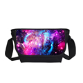 2017 New Fashion Galaxy Star Universe Space Messenger Bags For Women Casual 3D Star Print Cross