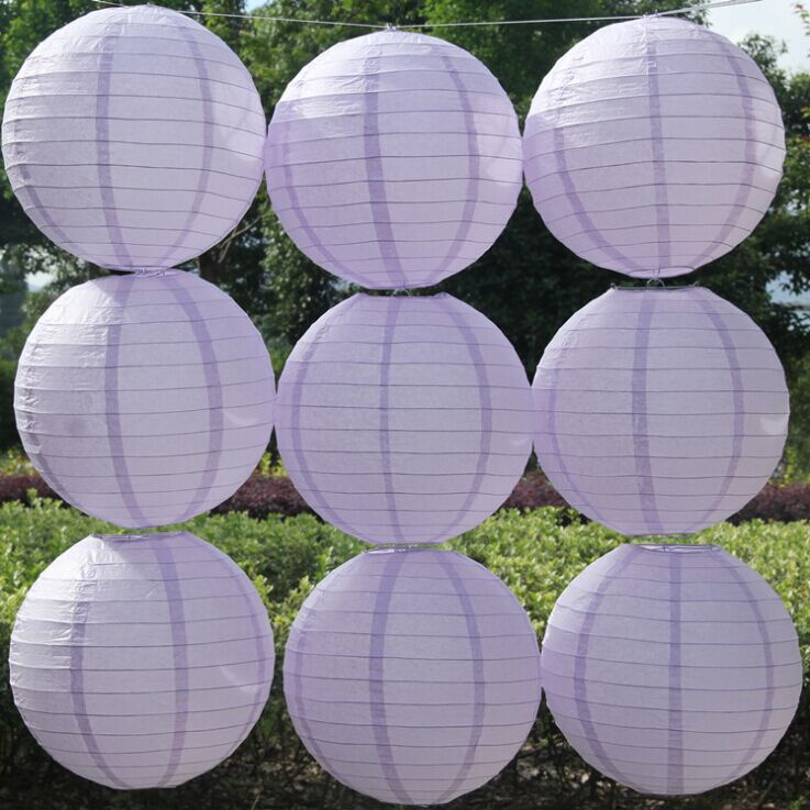 10pcs 12inch/30cm Round Paper lantern Lamps Festival Party Wedding Birthday Christmas Event Decoration Chinese Paper Lanterns(China (Mainland))