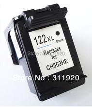 Бесплатная доставка картридж для HP 122 XL 122XL картридж с черными чернилами для HP Deskjet 1000 1050 2000 2050 3000 3050 3050A 3052A 3054A
