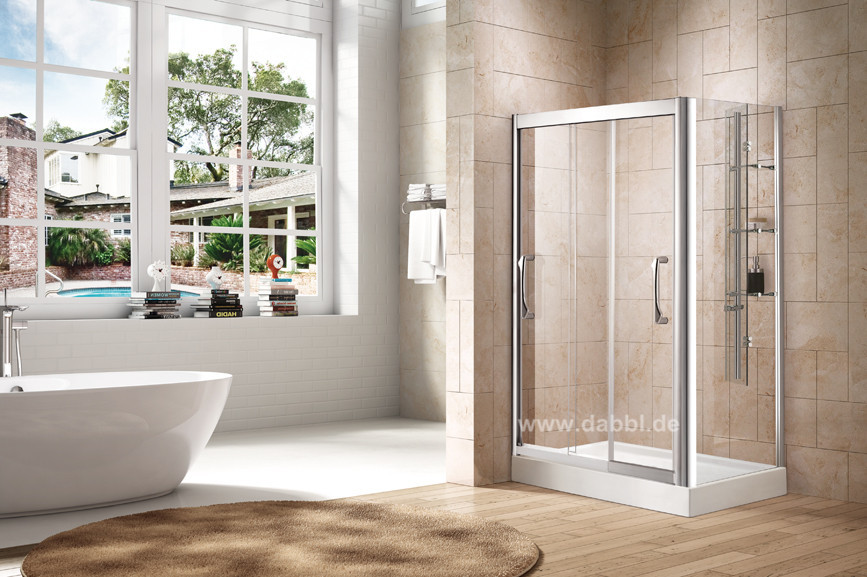 1200X800X1950 mm Double Sliding Tempered Glass Hardware Shower Enclosure Cabin DY-DK823L(China (Mainland))