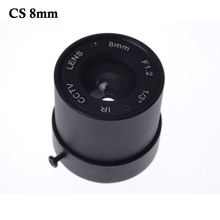 """Buy Wholesale CCTV CS LENS 8mm 40degrees 1/3"""" F1.2 CCTV Fixed Iris IR Infrared CS Mount Lens Security CCTV Camera for $5.51 in AliExpress store"""