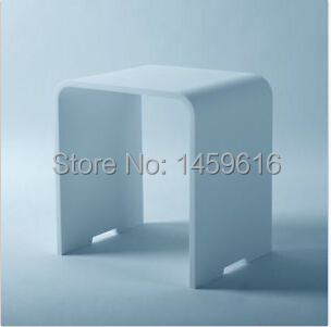 Здесь можно купить  Bathroom solid surface stone stool use for sauna rooms and shower enclosures bathing chair wd112 Bathroom solid surface stone stool use for sauna rooms and shower enclosures bathing chair wd112 Мебель