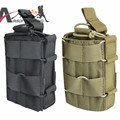 1000D Molle Tactical Adjustable Belt Waist Pistol Gun Holster Single Magazine Pouches Airsoft Hunting Utility Mag