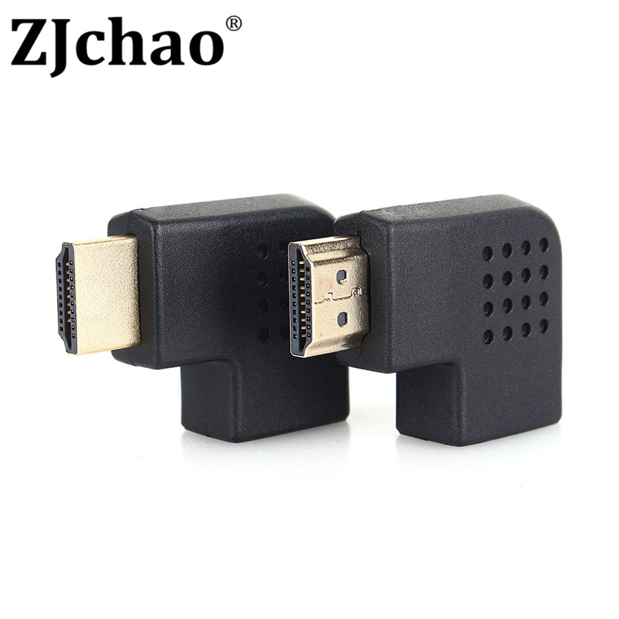 HDMI Male to HDMI Female Cable Adaptor Converter Extender Right/Left Degree Angle for 1080P HDTV for Hdmi Adapter(China (Mainland))