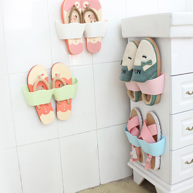 Wall shoe rack wall shoe racks jual beli creative wall Living room shoe storage ideas