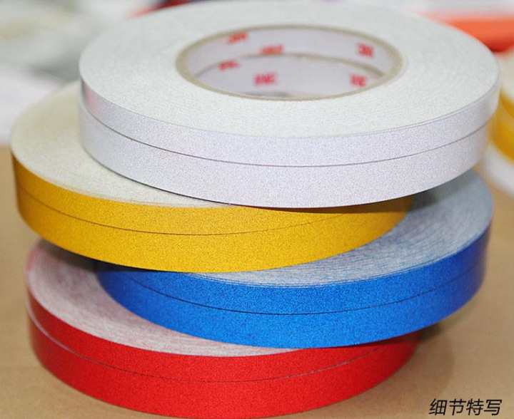Car adhesive sticker reflective tape strip - Decoration murale auto adhesive ...