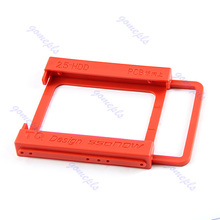 """New For Mounting Adapter Bracket Dock Holder 2.5"""" TO 3.5"""" SSD HDD Notebook Hard Disk(China (Mainland))"""