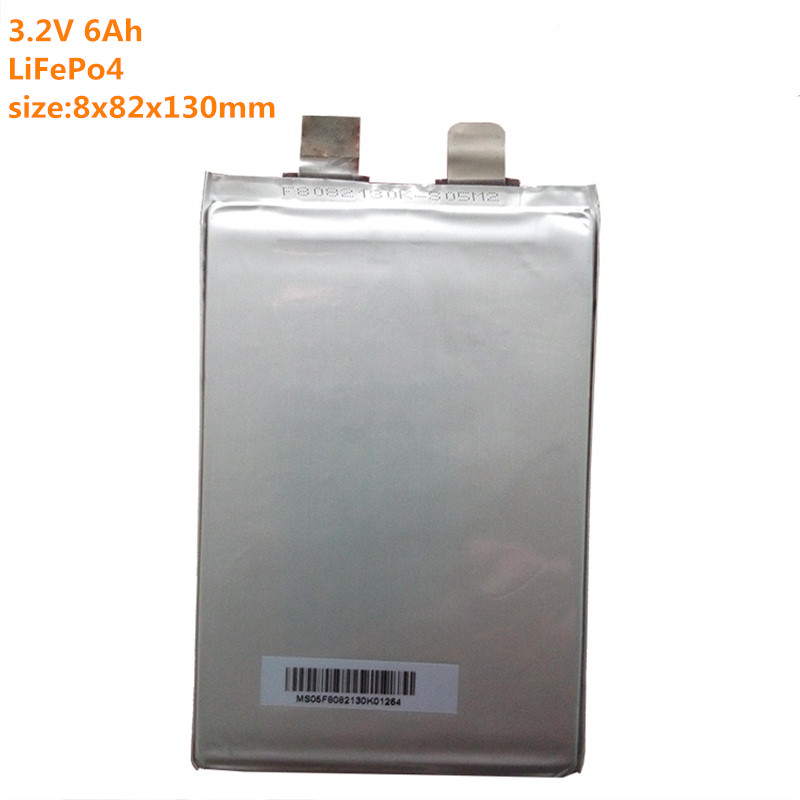 12pcs 3.2V 6Ah lifepo4 battery 3.2v / lifepo4 cell 20A high drain rechargeable battery 6000mah for diy 36v lifepo4 battery pack(China (Mainland))