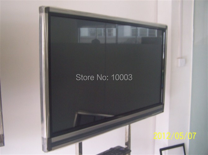 """plug and play 6 real touch points 8 normel points 82"""" IR multi touch frame Screen Panel/frame without glass 16:9 format(China (Mainland))"""