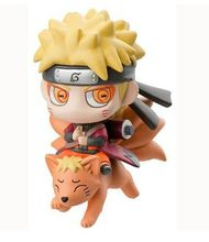 Anime Cartoon Q Version Naruto Figure Toys Naruto Uzumaki Action PVC Model Toy 10cm /3.94 Inch