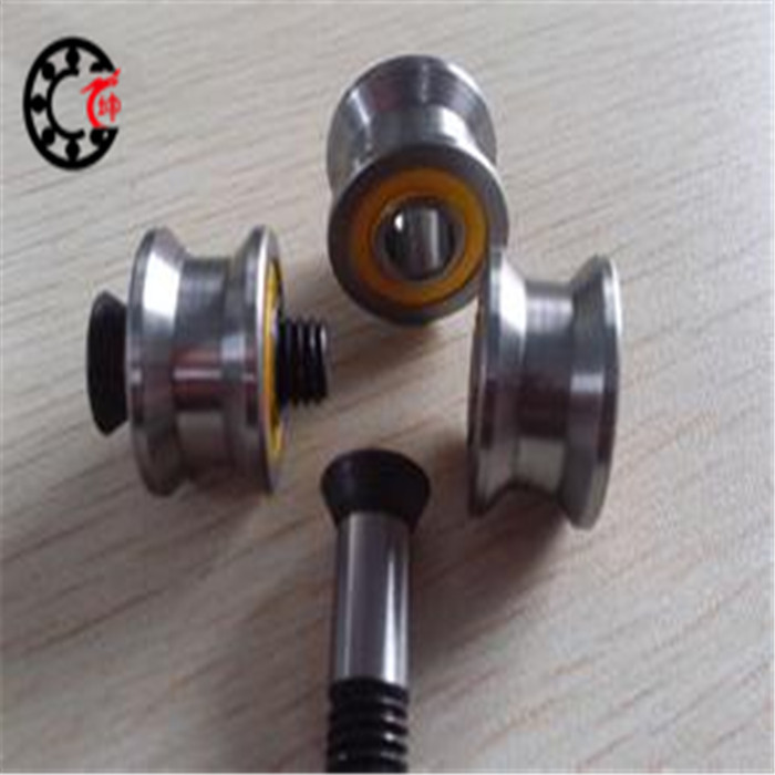 Free shipping 10pcs MR83UU MR83ZZ Molybdenum steel wire cutting/ wire guide wheels corrective straight U-groove bearing 3X8X3mm(China (Mainland))