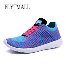 Sneakers Women Spring 2017 Breathable Air Running Shoes Sneakers Lace-up Lightweight Flywire Yeezy Shoes Women Outdoor Walking(China (Mainland))
