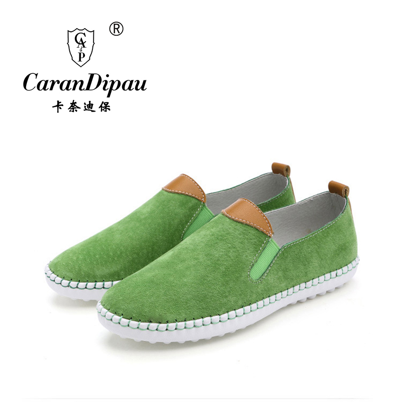 Shoes Woman new 2016 Genuine Leather Women Shoes Flats 3 Colors Loafers cow Slip On Women's Flat Shoes Moccasins(China (Mainland))