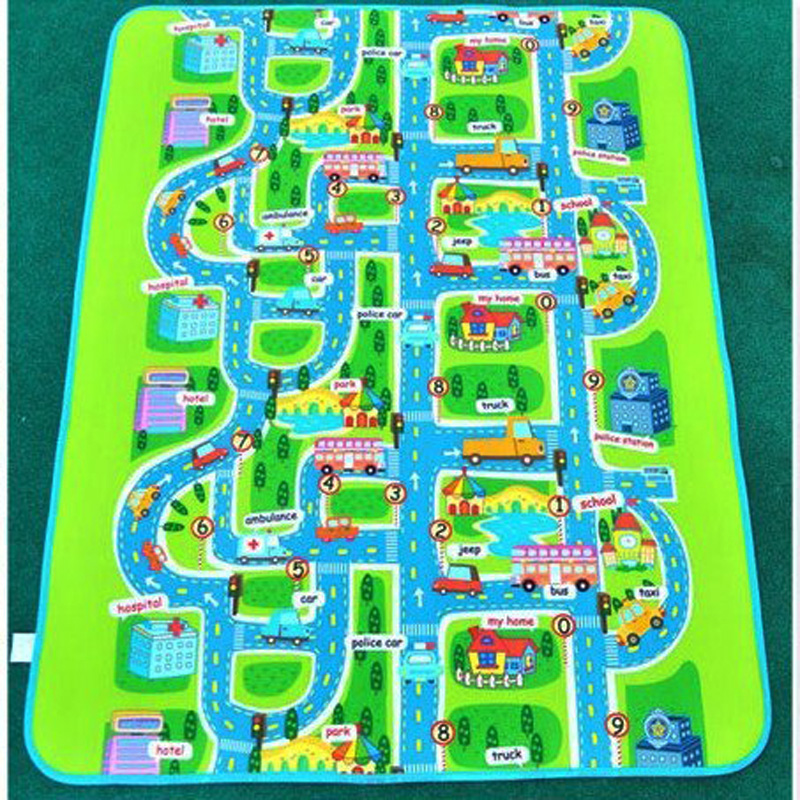 Гаджет  City style High quality Baby play mats Size:200*160*0.3cm  baby crawl mat  Baby Carpet Pad Toys For Kids Rug free shipping  None Игрушки и Хобби