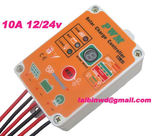 Солнечный контроллер 10A 12V/24V , 10amps LiFePO4 солнечный контроллер geree cmg 2420 12v 24v 1pcs lot mp003