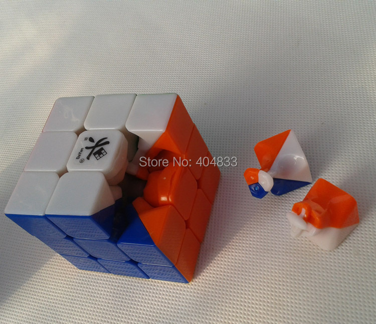 Dayan Lingyun II v2 Stickerless Cubo Magico Free Shipping Drop Shipping(China (Mainland))