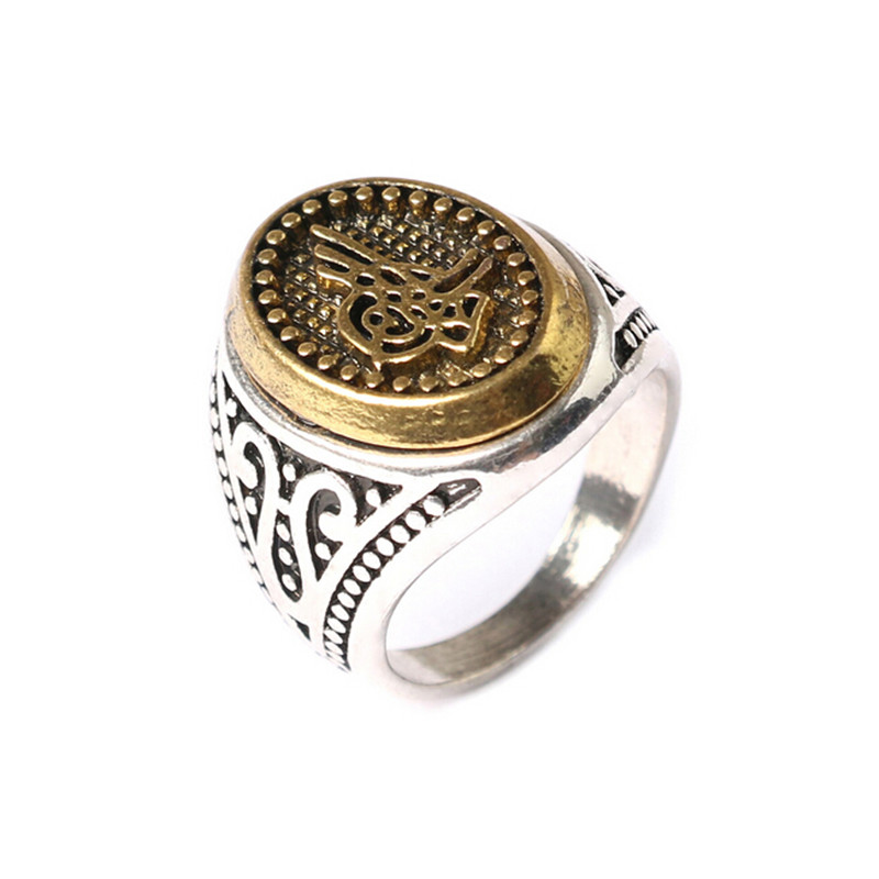 Size 7 10 vintage punk retro cool men rings new style Vintage style fashion rings