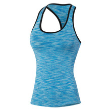 New Women Pro Sports Fitness Training Tight Tank Tops Elastic Quick Dry Tank Tops Camouflage Running Tank Tops Sport Clothing(China (Mainland))