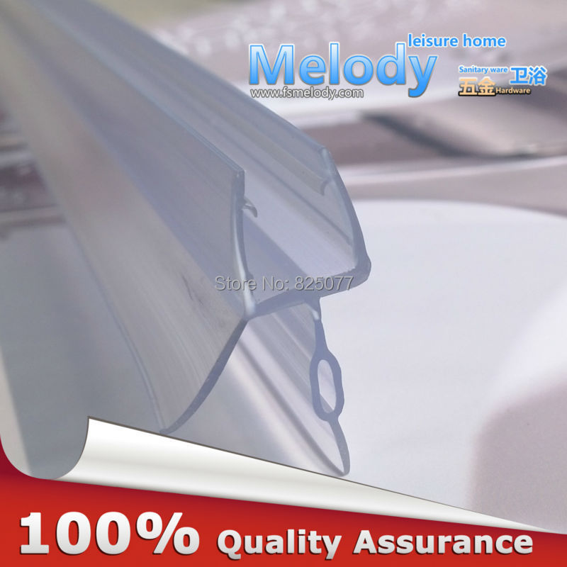 Me-309d2 Bath Shower Screen Rubber Big Seals waterproof strips glass door seals length:700mm Gap:10-17mm(China (Mainland))