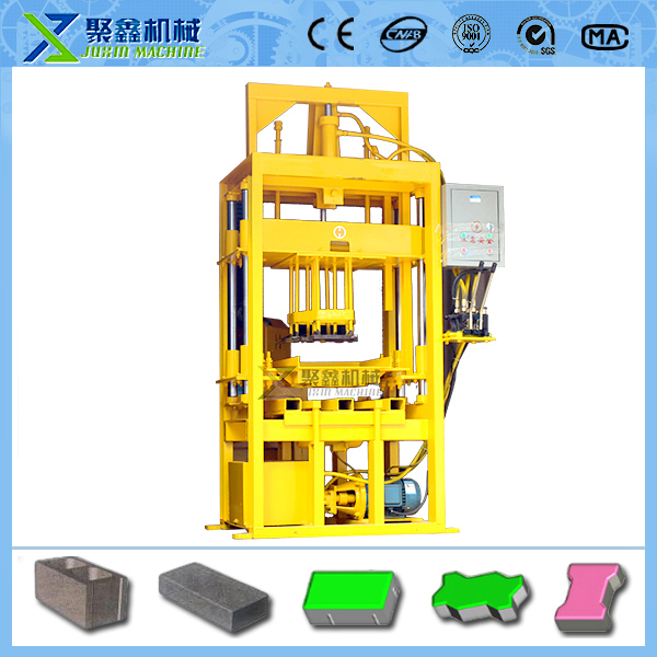one set C25 concrete brick machine +hydraulic pressure +one set free mold+ FOBport Qingdao Port price(China (Mainland))