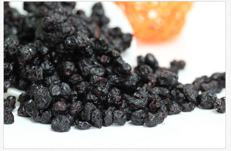 Dongbei Wild Dried Blueberries 500g Dried Fruit Fresh Blueberry Healthy Snacks Green Food Nutrition Improve Eyes