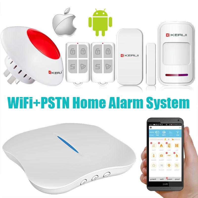 W1 wifi home burglar security alarm system pstn intelligent alarm