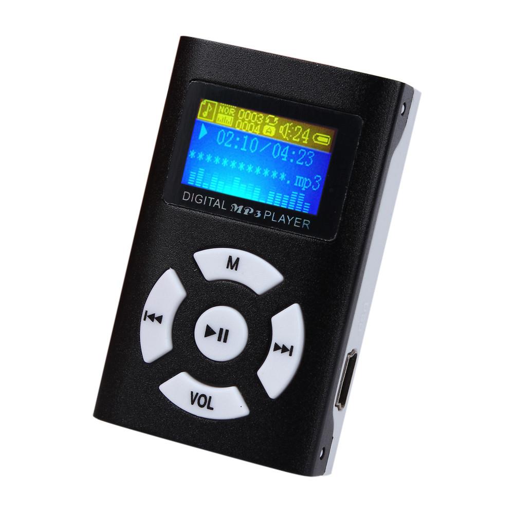 Malloom 2016 USB Mini Slim MP3 Music Player LCD Screen Support 32GB Micro TF Card case walkman electronica free music downloads(China (Mainland))