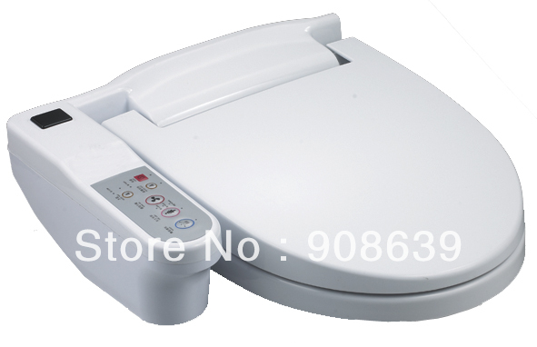 Automatic Toilets For Homes : Automatic water spray toilet seat with remote controller