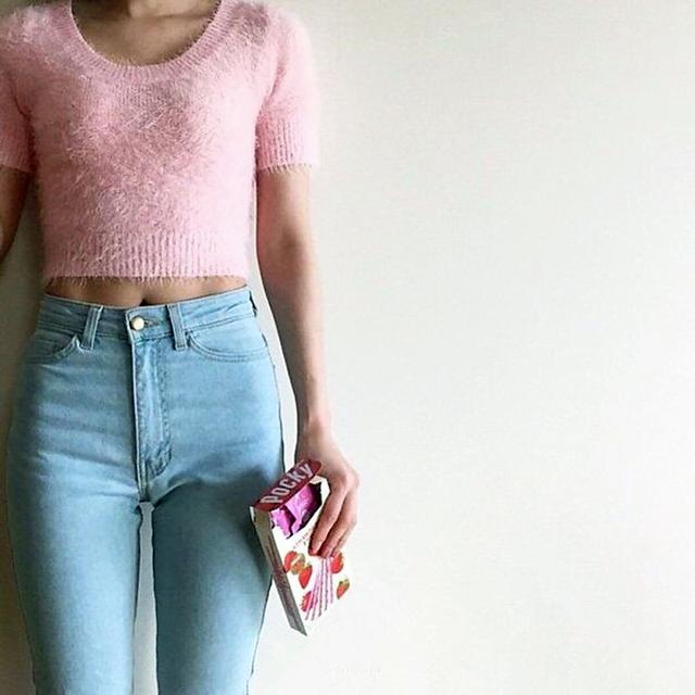 Американского одежды женщины а . а . классический высокой талией джинсы женские узкие ...