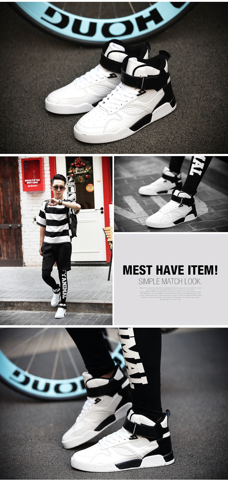 New Classic Men Shoes Outdoors Casual Men Shoes High Top Fashion Boots for Men Breathable Comfortable Zapatos Hombre SIZE 39-44