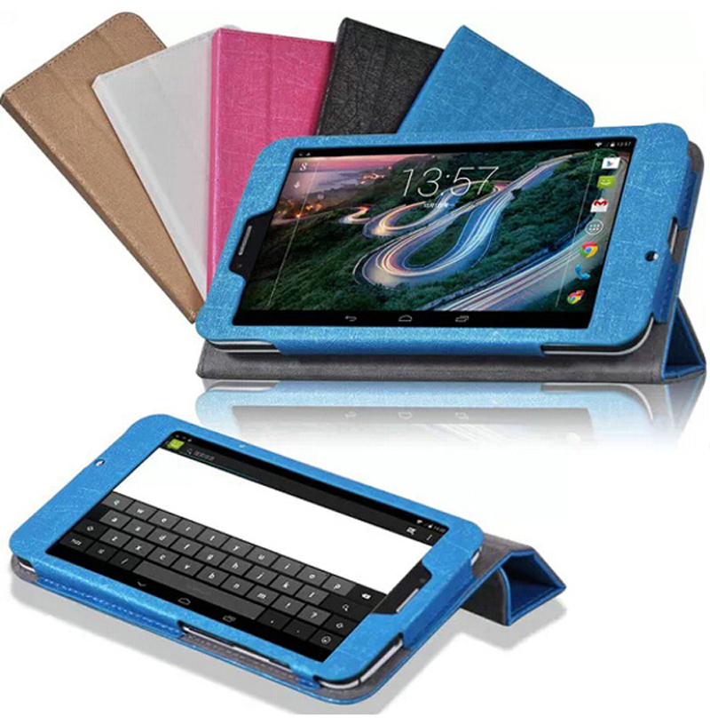 """Ultra Thin Slim Silk Patterns Folio Stand Cover Protective Magnetic Leather Case For HP Slate 7 Voice Tab 7.0 7"""" 7inch Tablet(China (Mainland))"""