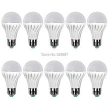 10pcs/lot Brand New E27 Led Bulb 10W SMD 2835 LED Lights Lampada White Light Spotlight Lamps LightsHigh QualityFor Home Office(China (Mainland))