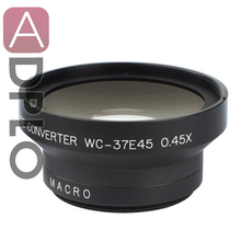 Buy 37mm 0.45X Wide Angle Lens Macro suit Canon Nikon Pentax Sony Panasonic, Black+with Lens Cleaning Pen for $17.45 in AliExpress store