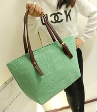 DL005 Women bags 43*26*13cm Winter new Korean version of the Oracle package embossed shoulder bag retro Egypt women bags