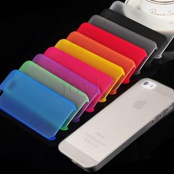 Высокое качество 1 шт. ультратонкий 0.3 мм для Apple , iPhone 5 5S тонкий матовый прозрачный чехол для Apple , iPhone 5 5S