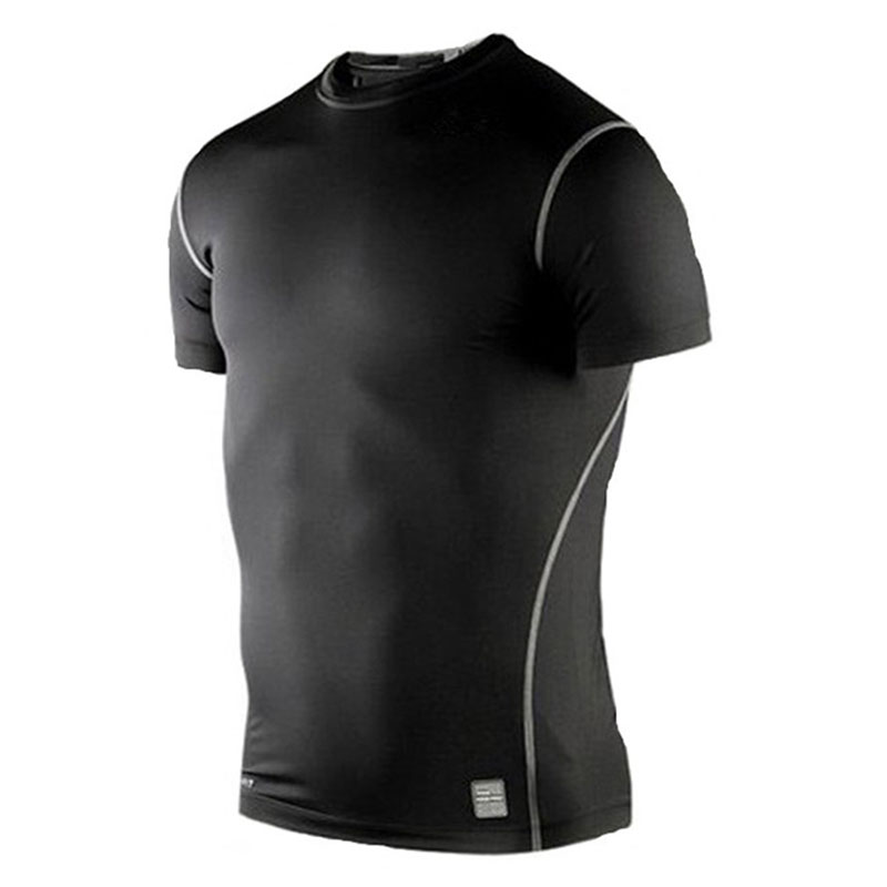 Sport cheap basketball jerseys ONeck ShortSleeve T Shirt Casual Men Boy Tight Top Shirt Quick Dry Compressed Breathable Flexible(China (Mainland))