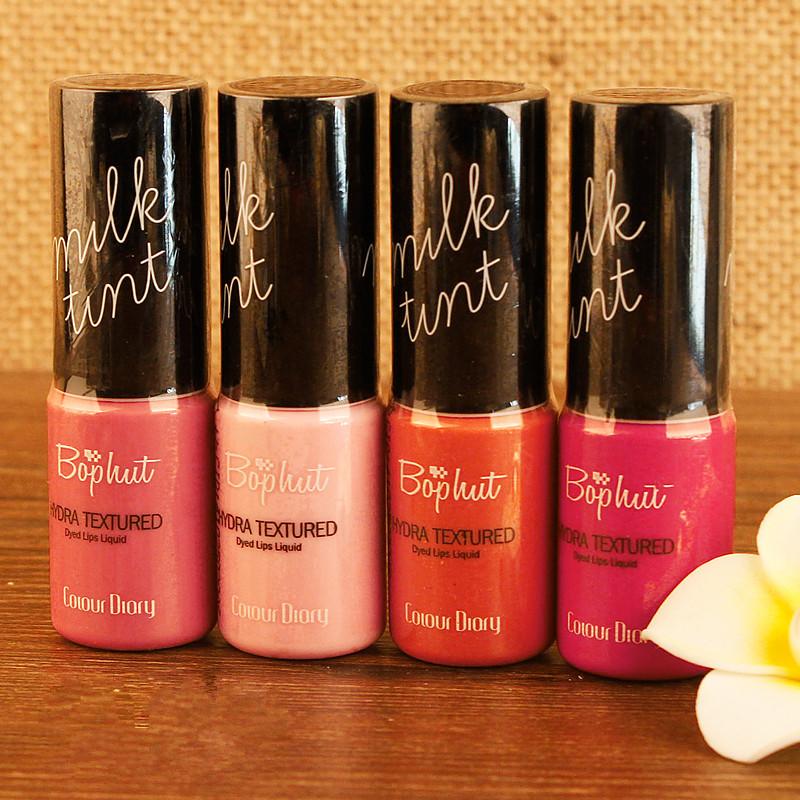 Free Shipping CD Korean High Quality Lip Gloss Milk Dyed Lips Liquid Nourish Colored Lip Brilliant Lip makeup Cosmetics S0015<br><br>Aliexpress