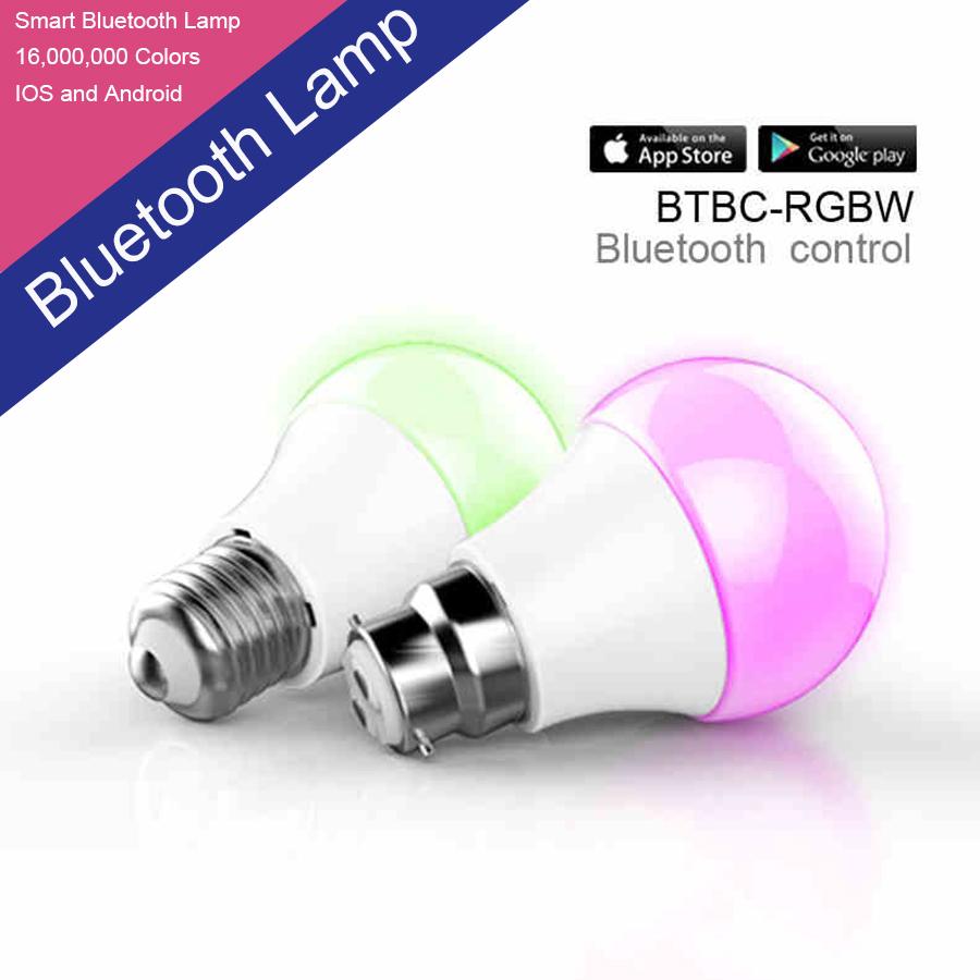RGBW Bluetooth led light bulb