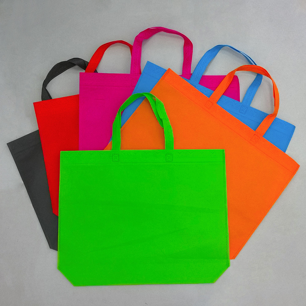 Wholesale Cotton Shopping Bag Foldable Reusable Grocery Bags Convenient Totes Bag Shopping Cotton Tote Bag red blue brown orange(China (Mainland))