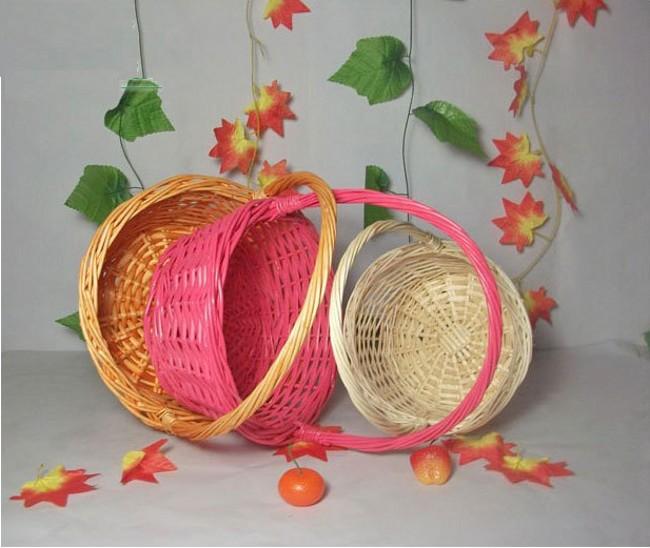 knitting basket: