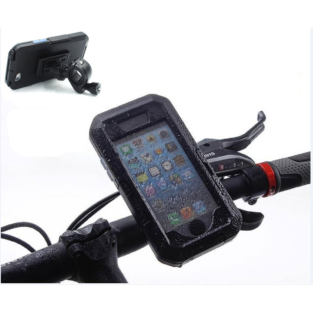 Motorcycle Bike Bicycle Phone Holder for iPhone 6S/6S Plus Waterproof Case Diving Case Mobile Phone Shell for iPhone 6/6 Plus(China (Mainland))