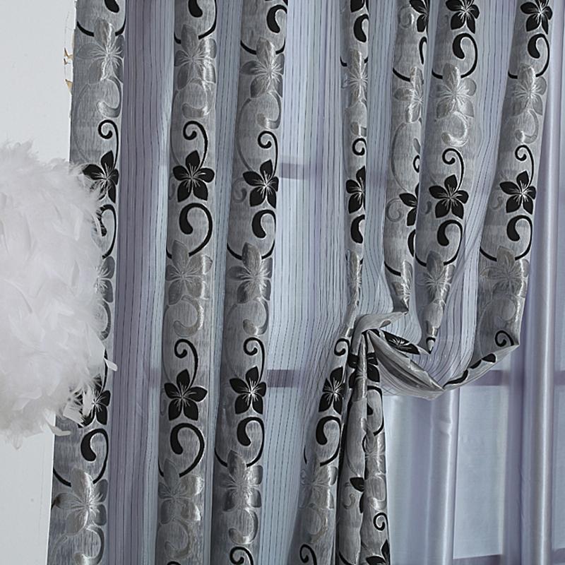 mode fen tre de rideau d pistage produit fini qualit simple rideau dans rideaux de maison. Black Bedroom Furniture Sets. Home Design Ideas