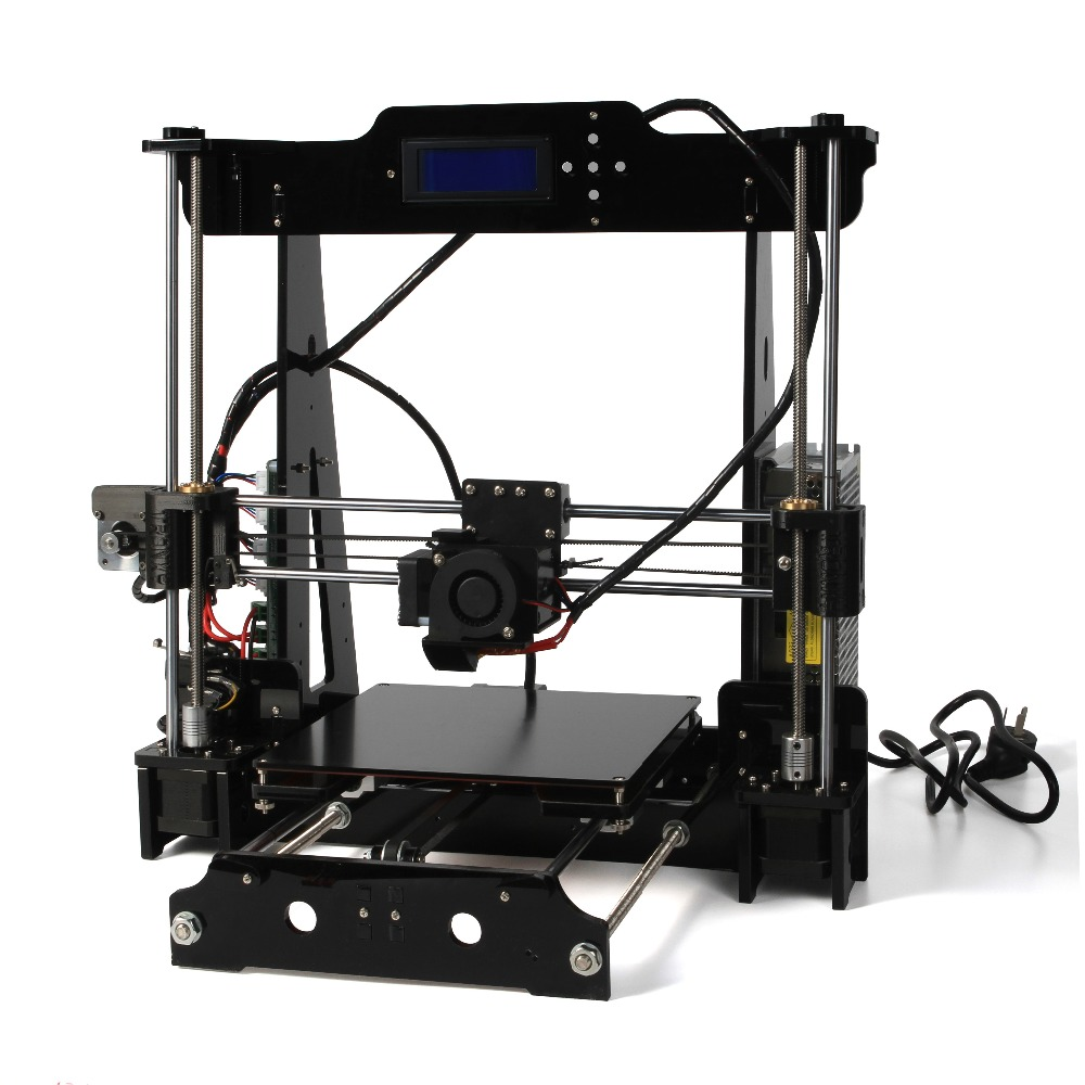 3d printer DIY Kit Reprap Prusa i3 The 8th Genaration P802 3d printer 1 Rolls Filament
