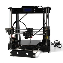 2016 New Upgrade 3d-printer DIY Kit Reprap Prusa i3 The 8th Genaration P802 3d printer 1 Rolls Filament 8GB SDcard Free Shipping