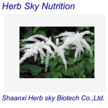 100% Natural Black Cohosh Extract, Black Cohosh Root Extract, Actaea Racemosa Extract 1000g/lot(China (Mainland))