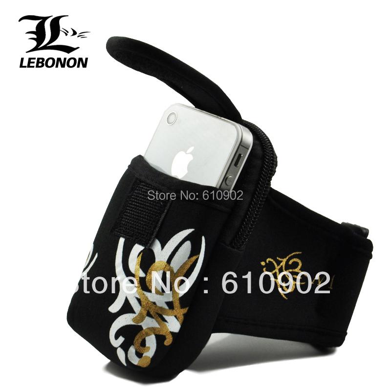 Outside sport arm package mobile phone armband bag waist pack wrist bag running arm package handbags mobile phone bag(China (Mainland))