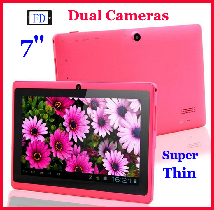 The new Q88 Allwinner A33 tablet pc 7 inch ultra thin quad core tablet dual camera manufacturers promotional gifts tablet pc(China (Mainland))